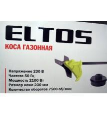 Электрокоса Eltos КГ-2100